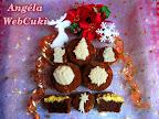 Túrós kakaós muffin, ezt a muffint sütöttem meg többek között karácsonyra, ami nagyon könnyen elkészíthető és mindamellett nagyon finom is.