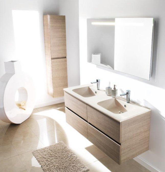 Aqualys burdin bossert prolians besancon meuble salle de bain ketty ambiance bain - Ambiance salle de bain bois ...