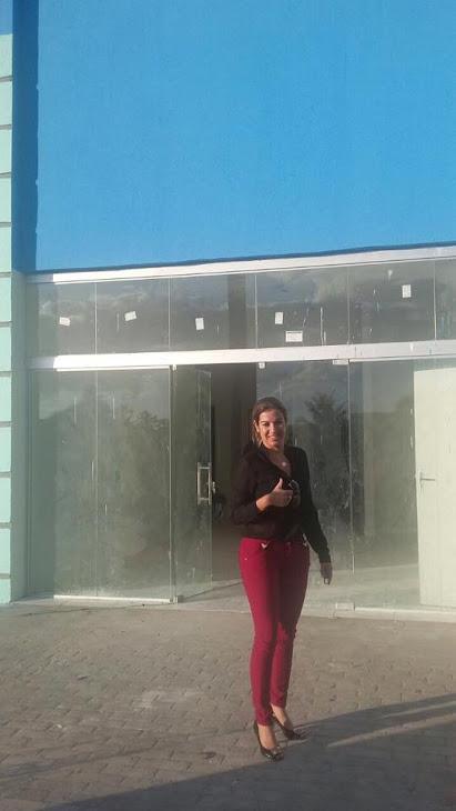 """Edylene Ferreira:""""Muito feliz com o posto de saúde do cajueiro de Ernesto!!! Logo vamos inaugurar."""""""