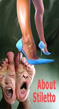 tentang Stilletto model sepatu wanita berhak tinggi