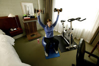 Westin Workout Hotel Room