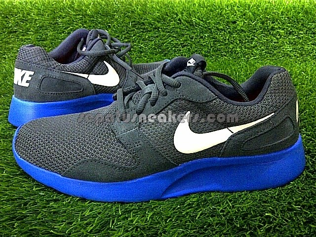 sepatu nike kaishi run grey blue original