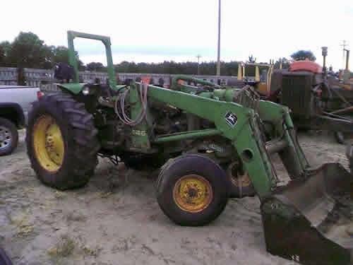 John Deere 2020 tractor parts
