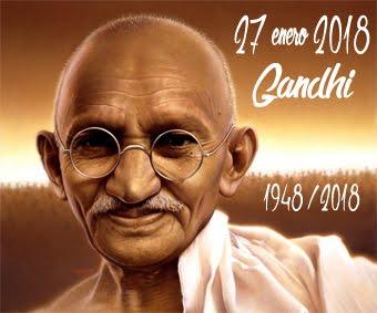 Gandhi, 70 años de su muerte...