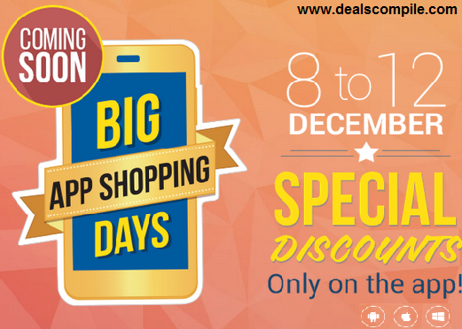 Flipkart - Big App Shopping Days