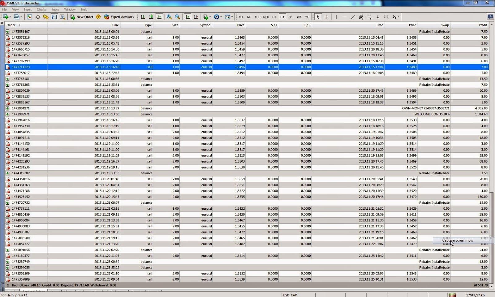 Cent account forex broker list