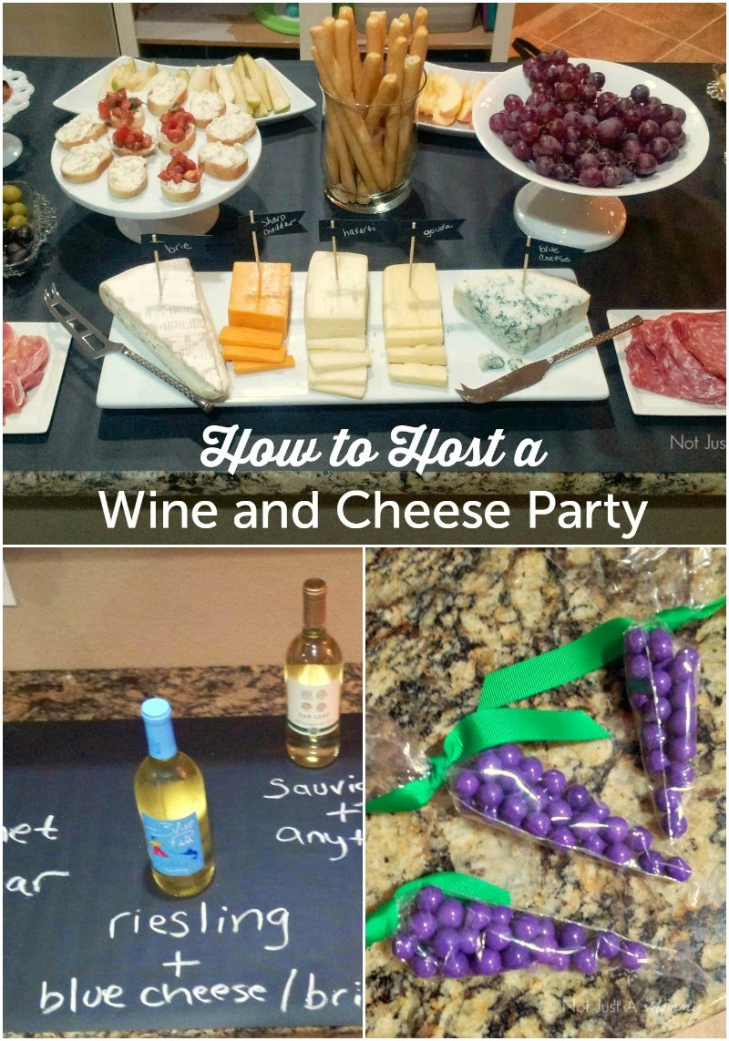Great tips on hosting a wine & cheese party