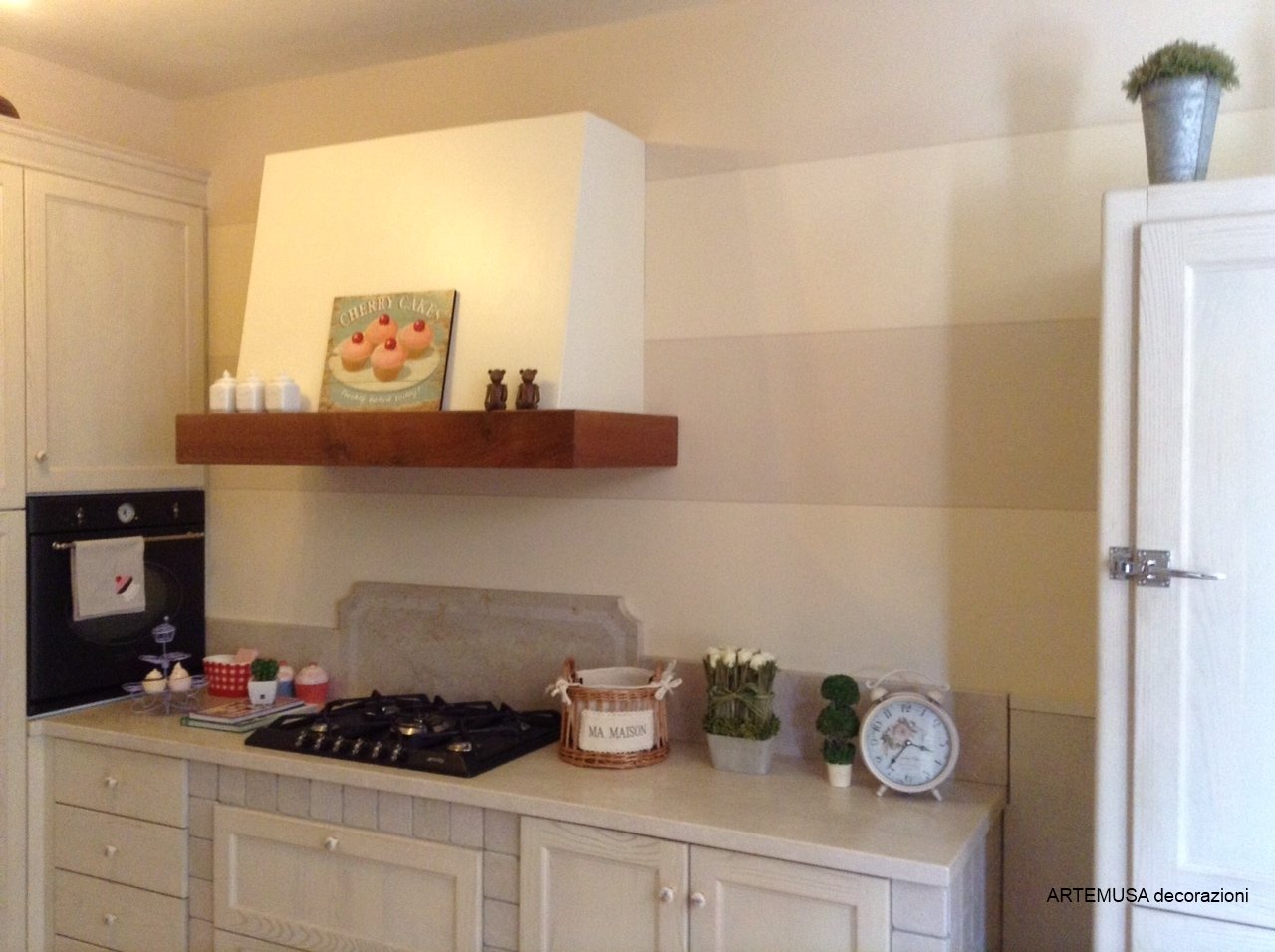 Cucina Finestra : Tende per finestra cucina moderna. Cucina con ...