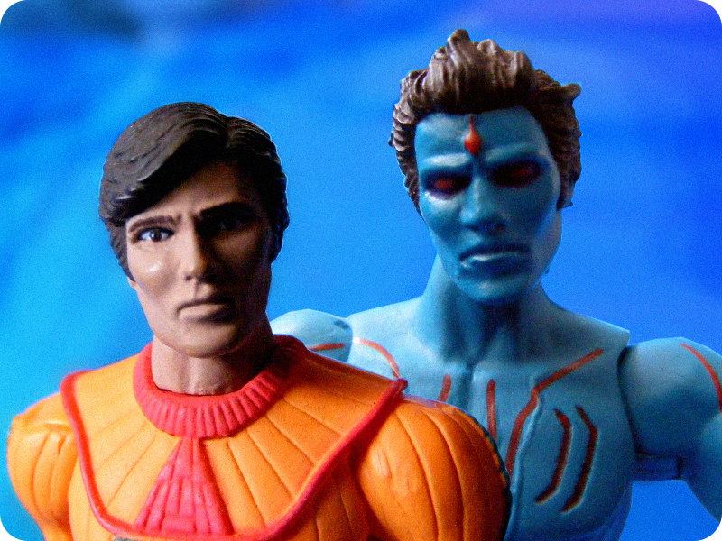 Note: I really don't know much about the backstory of these figures.
