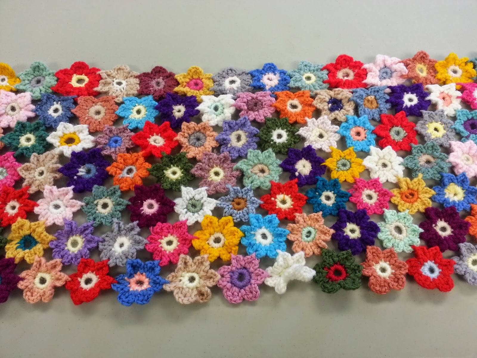 Crochet Flower Blanket : Lilly My Cat: Crochet Flower Blanket and Queen Anne Lace