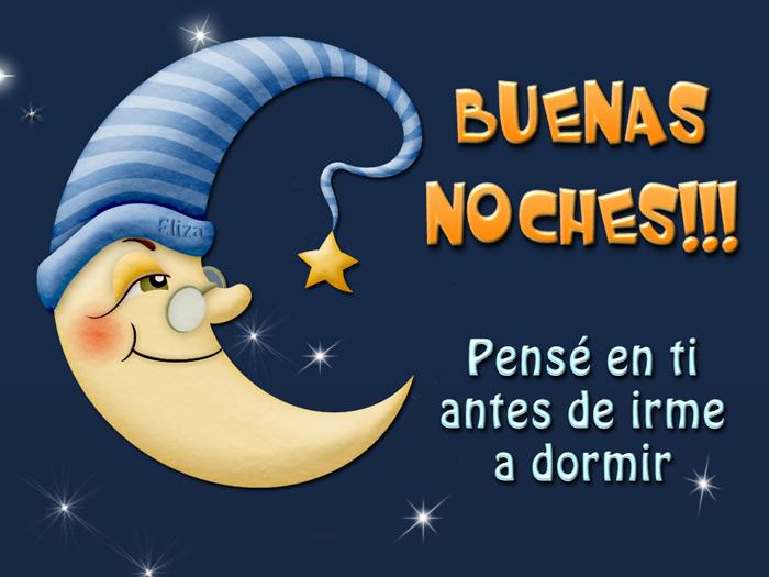 Tarjetas y postales buenas noches pens en ti antes de - Almohadas buenas para dormir ...
