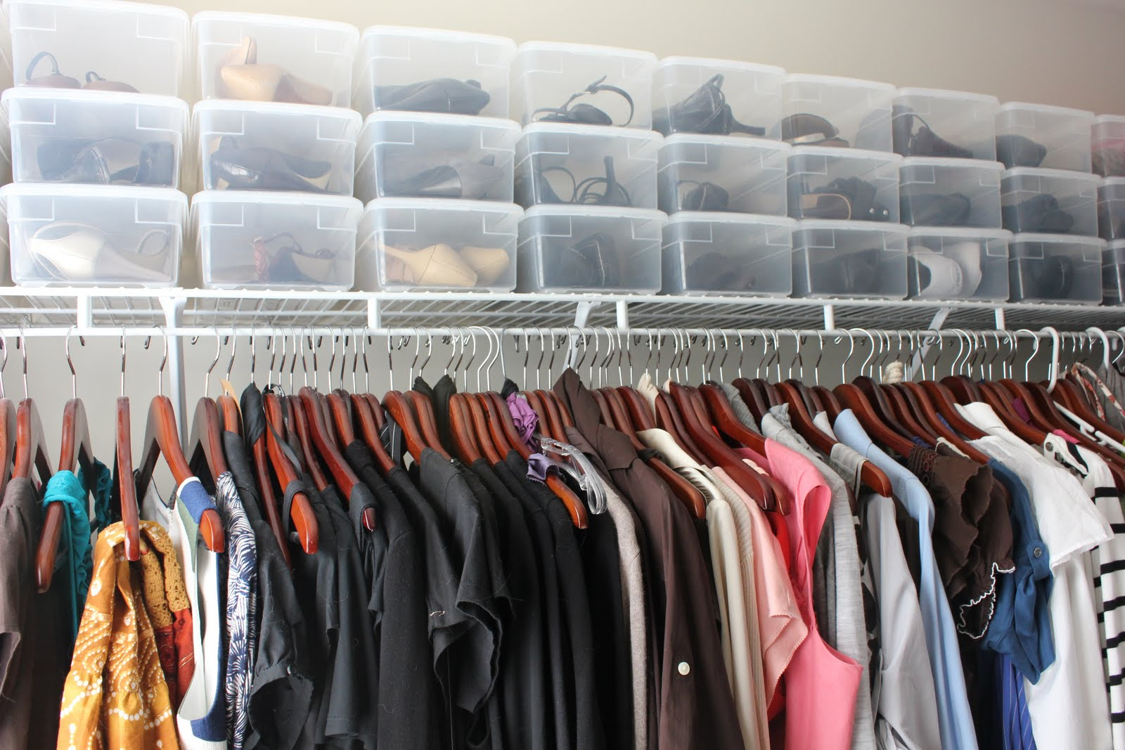 An Organized Life: Shoe Storage