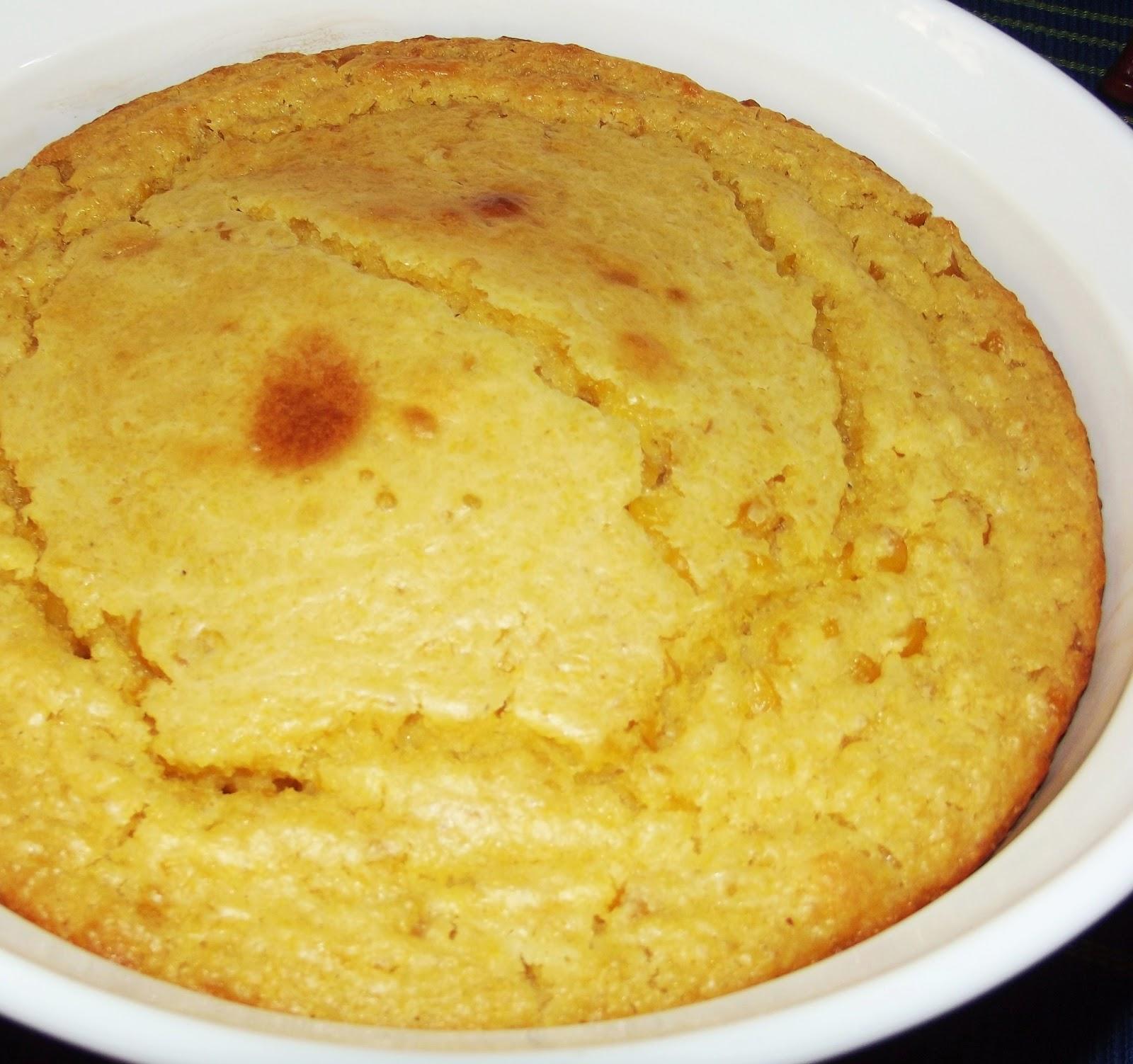 Cinnamon-Sugar: Cornbread Pudding