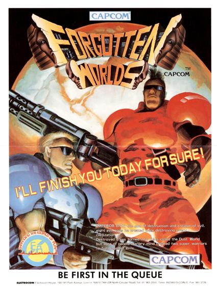 forgotten worlds arcade game portable