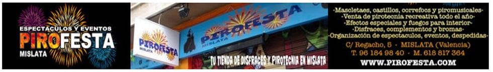 ESPECTACULOS PIROTECNICOS PIROFESTA
