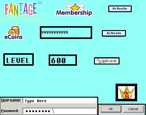 Free Fantage Member Accounts 2014