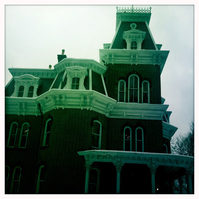Hower House in Downtown Akron