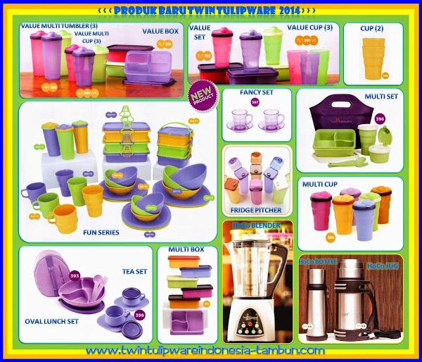 Koleksi Produk Twin Tulipware Terbaru 2014