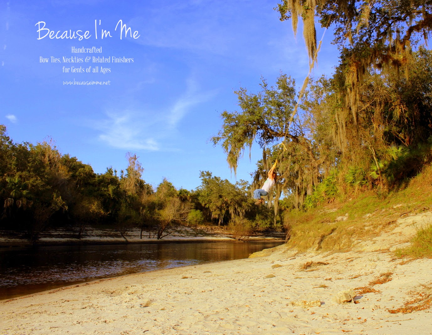 Because I'm Me, Peace River, Arcadia, Florida rope swinging