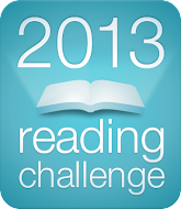 Goodreads 2013 Reading Challenge - 100 books for me! Come see the books/click on title 4 the review