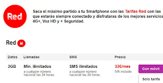 Todas las tarifas de Vodafone en julio 2015
