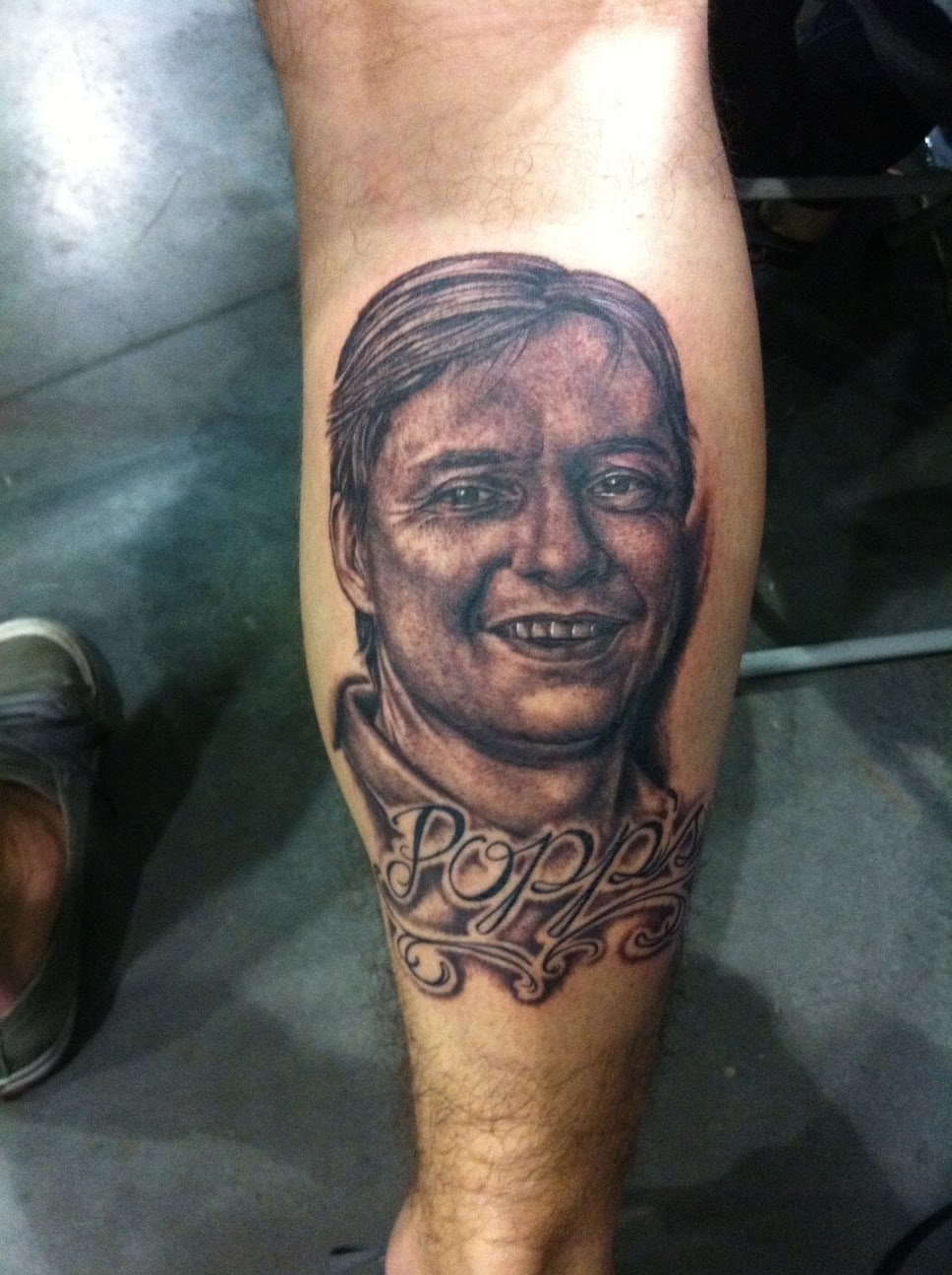 The grim files of craig gardyan 39 s work may 2012 for Tattoos for dad that passed away