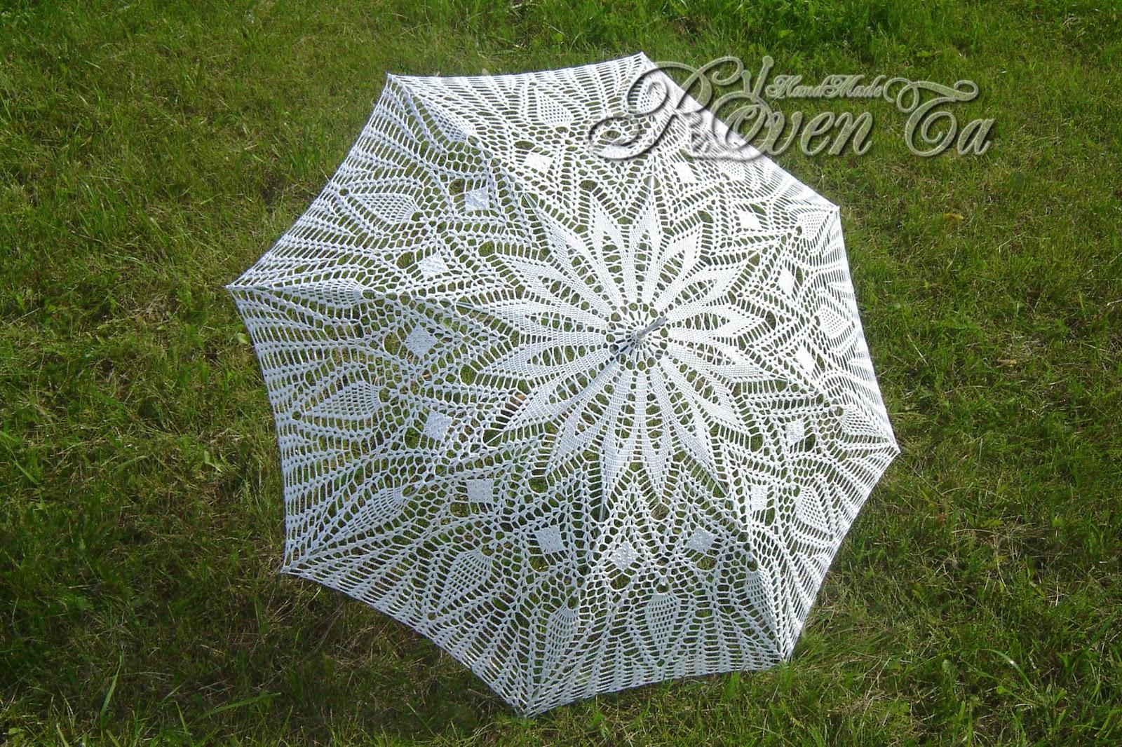 Свадебный зонт своими руками