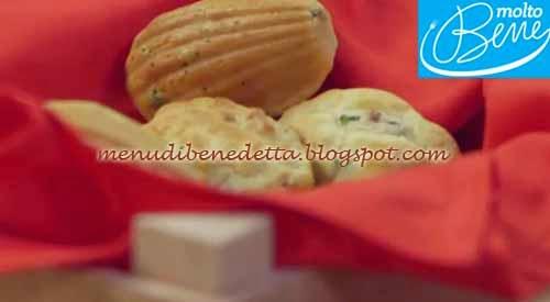 Madeleines Salate ricetta Parodi per Molto Bene su Real Time