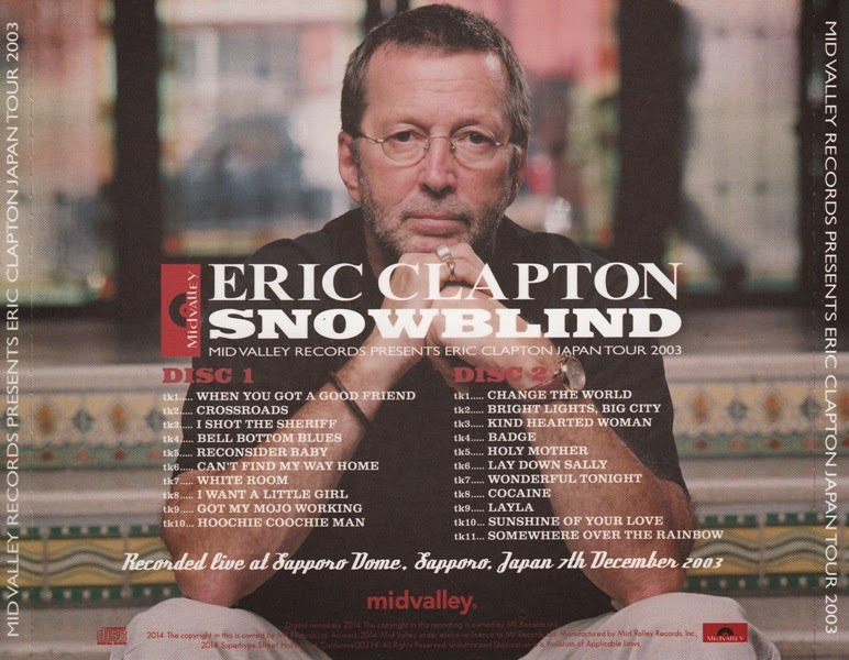 World Of Bootlegs Bootleg Eric Clapton Sapporo Dome