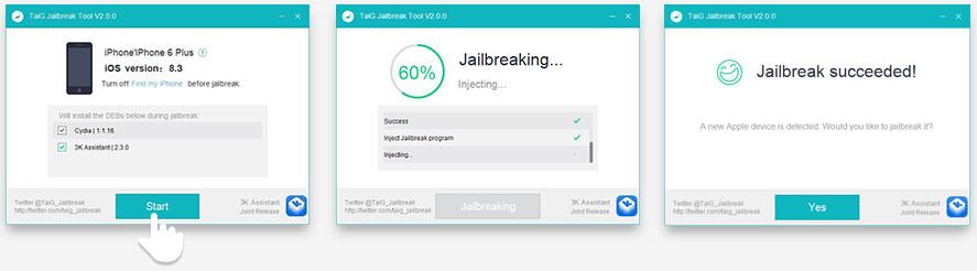 Как сделать jailbreak ios 83 iphone 4s