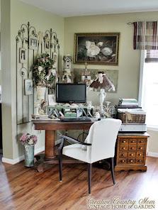 My Creative Corner - A Vintage Style Desk