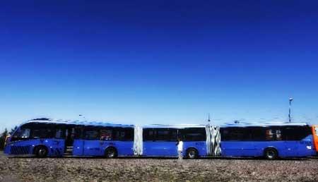 Bus Terpanjang di Dunia