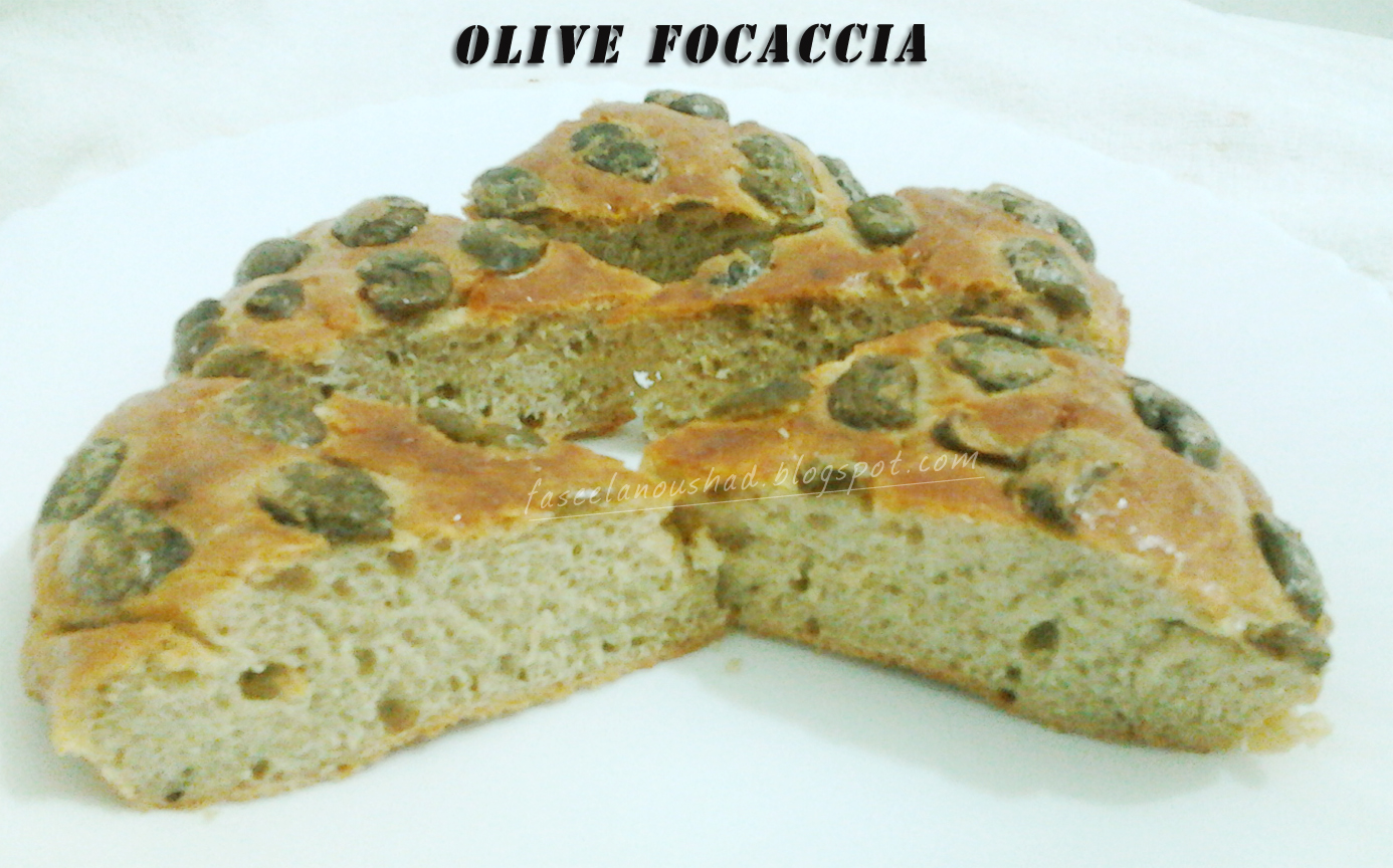 GOOD FOOD ENDS WITH GOOD TALK: Olive Focaccia