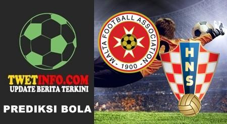 Prediksi Malta vs Croatia