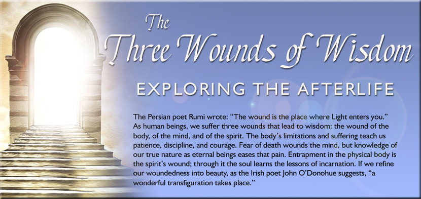 The Three Wounds of Wisdom: Exploring the Afterlife