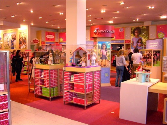 Loja American Girl em Nova York