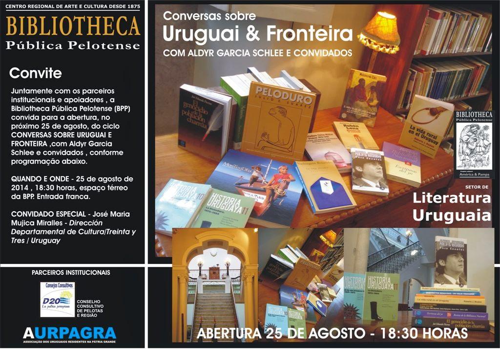 Conversas sobre Uruguai Fronteira na BPP