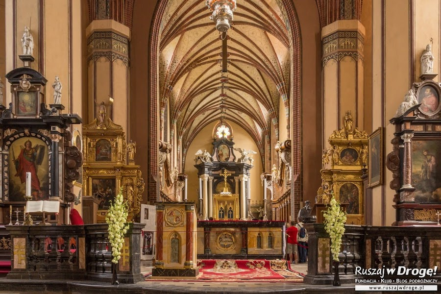 Katedra we Fromborku - piękny ołtarz