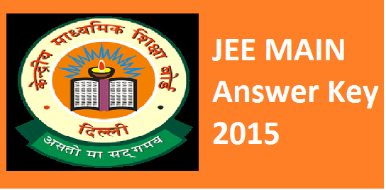 JEE Main 2015 Answer key