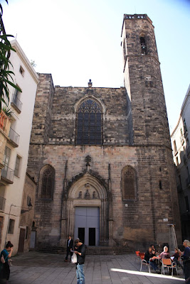 Gothic church of Sant Just i Pastor in Barcelona