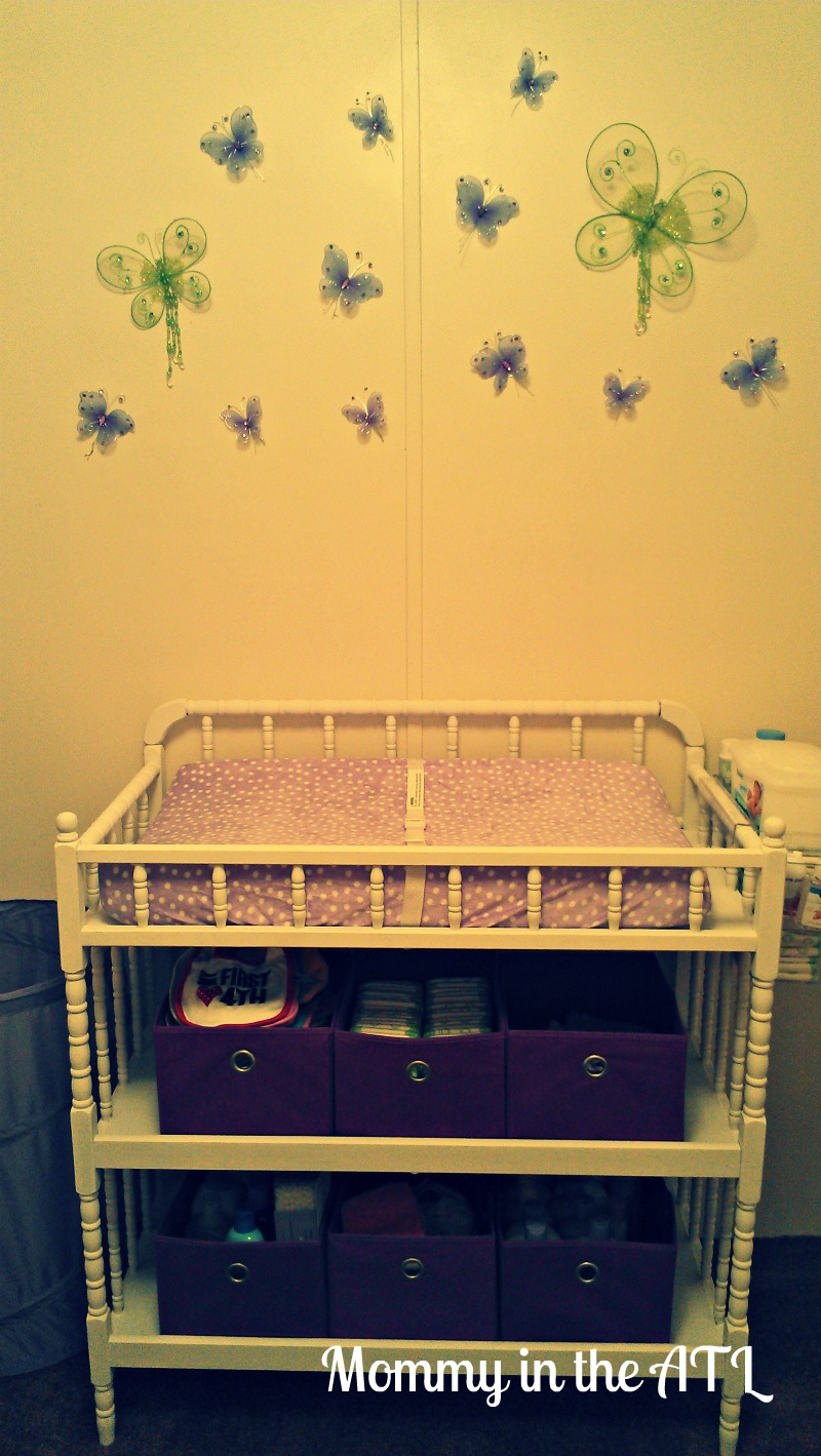 ... With My Camera Phone, But I Think You Can Get The General Idea Of How  It Looks. I Promise You It Is Definitely Much Cuter In Person! The Changing  Table ...
