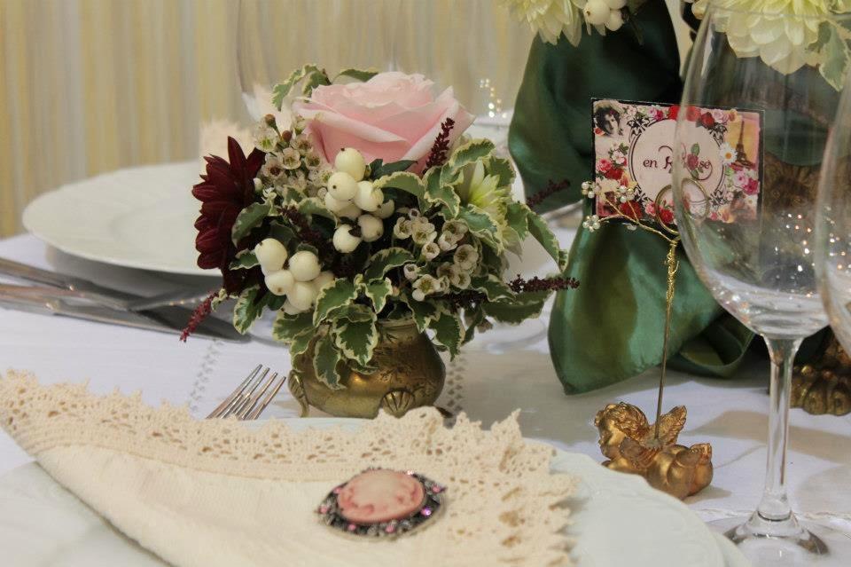 Wedding Inspiration 5 Floral Arrangements For A Vintage Shabby