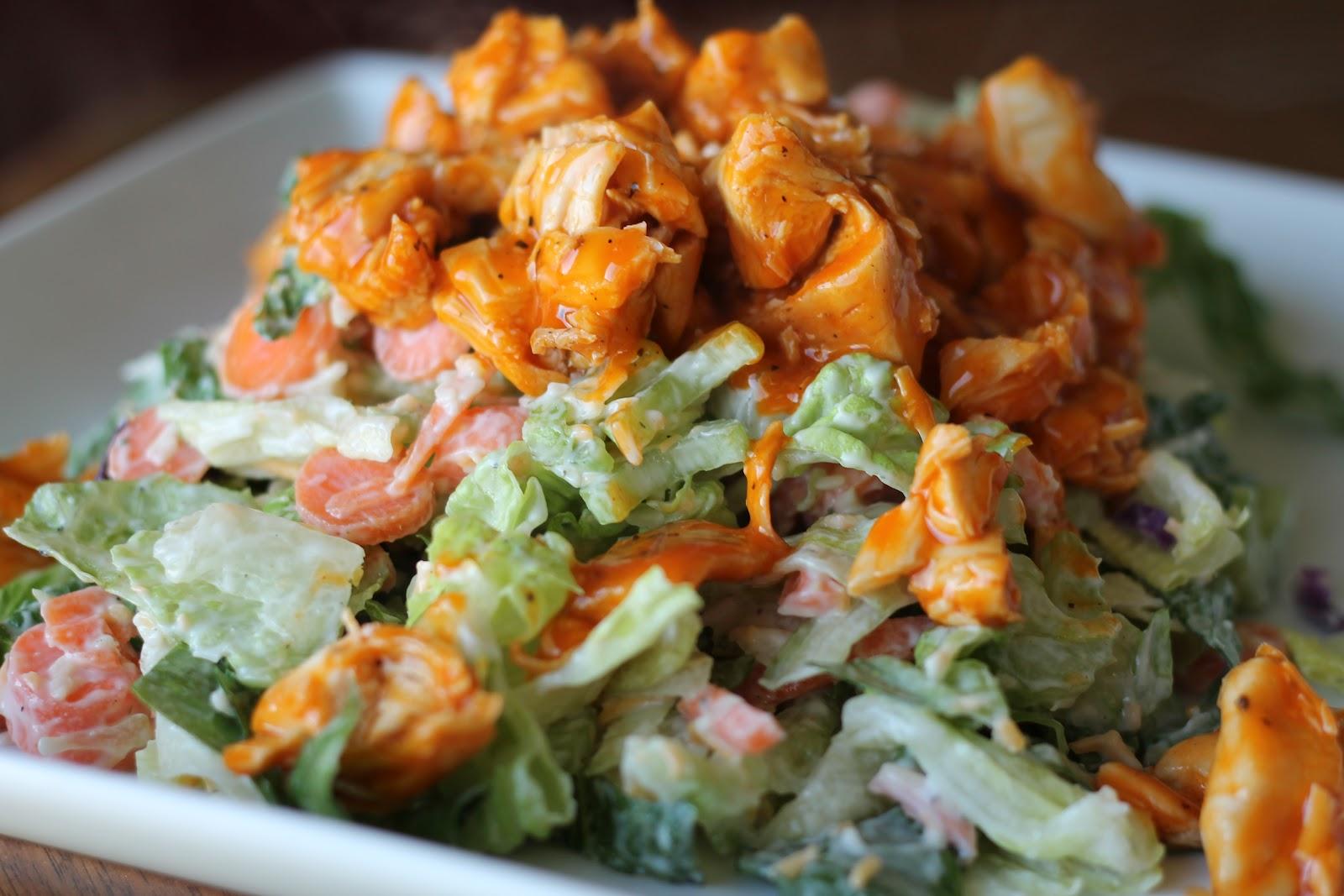 Mrs. Schwartz's Kitchen: Chopped Buffalo Chicken Salad