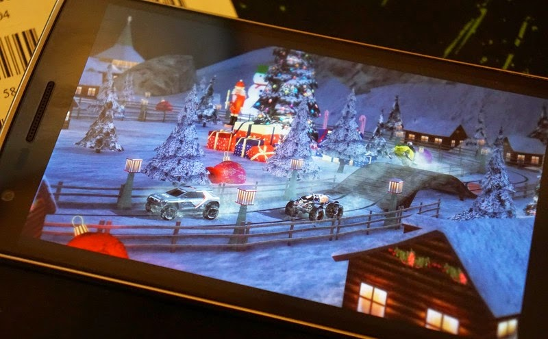 Red Bull Racers Updated Android App for Winter