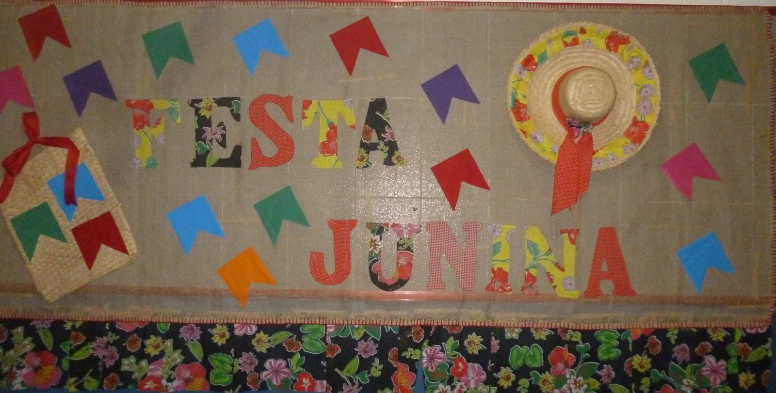 Sugest o de mural com tema festas juninas educando com for Como colocar papel mural