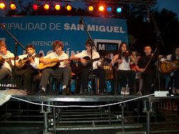 Con la orquesta de Violines