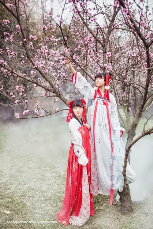 Thiếu nữ Hàn Quốc xinh đẹp với mùa xuân 1