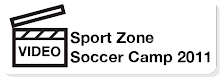 Video Sportzone Soccer Camp 2011