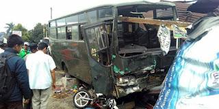 satuan lalu lintas Polres Bogor telah menyerahkan proses penyelidikan kecelakaan maut bus TNI ini kepada pihak Detasemen Polisi Militer pasalnya supir bus tersebut adalah anggota TNI