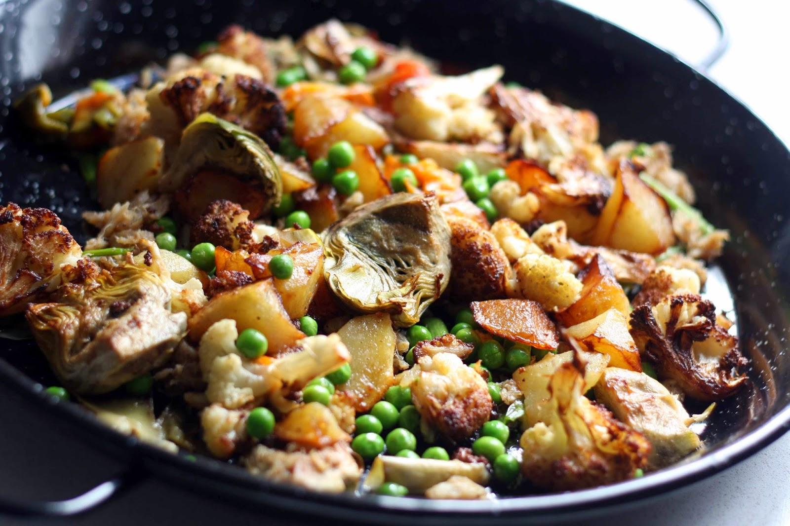 Igloo cooking arroz con bacalao patata y coliflor - Arroz con bacalao desmigado ...